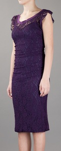 appropriate dress length for evening wedding lace dress example