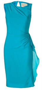 appropriate dress length for evening wedding shift dress example