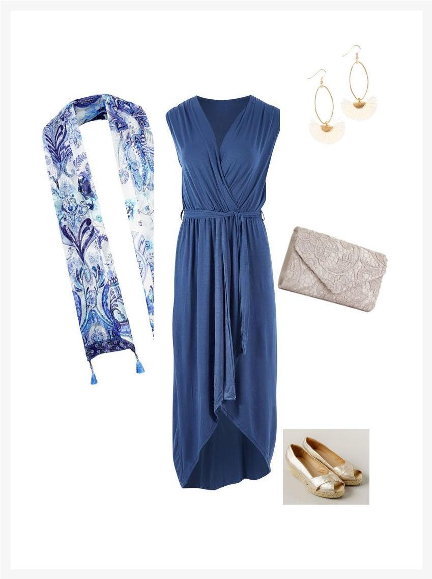 casual evening wear dress