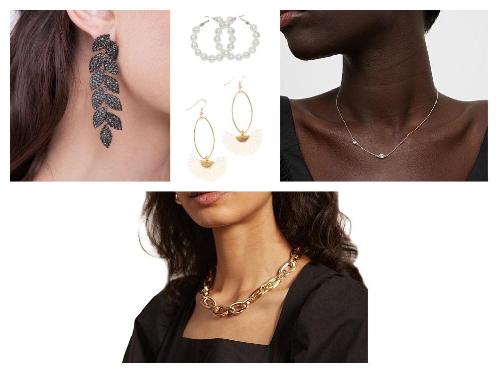 casual evening wear jewellery