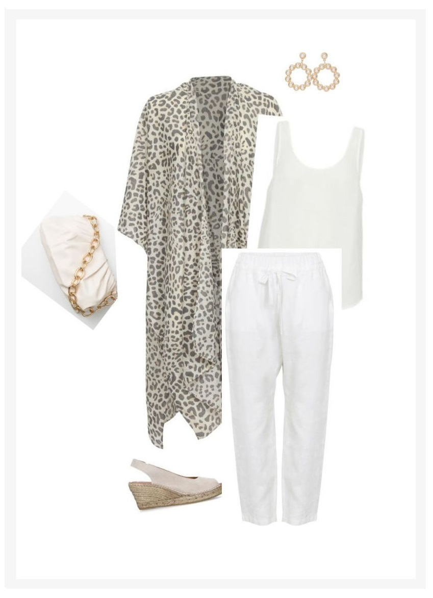 casual evening wear kimono outfit