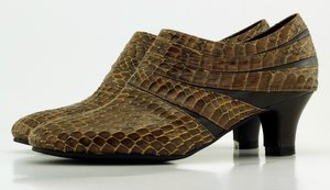 Custom Made Womens Snake Shoe Boots