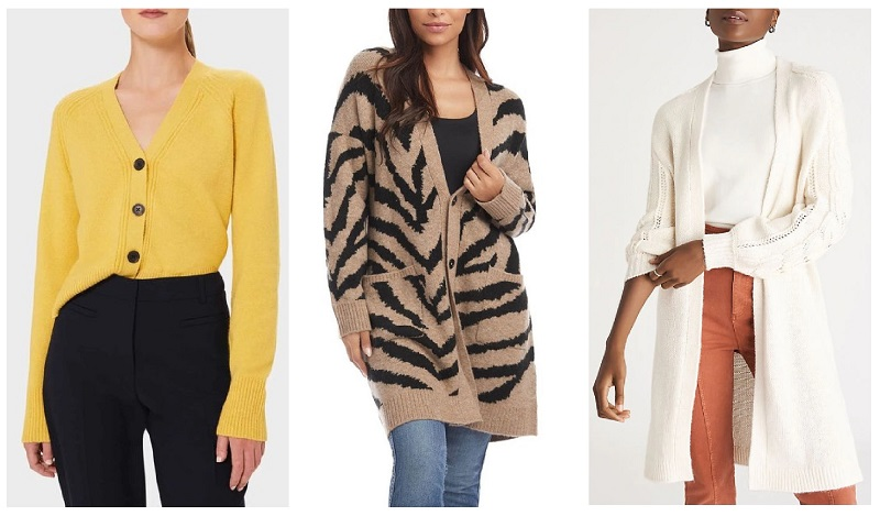 fall winter 2020 fashion trends cardigans