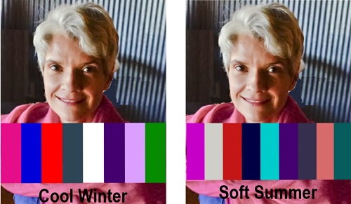 how coloring changes with age