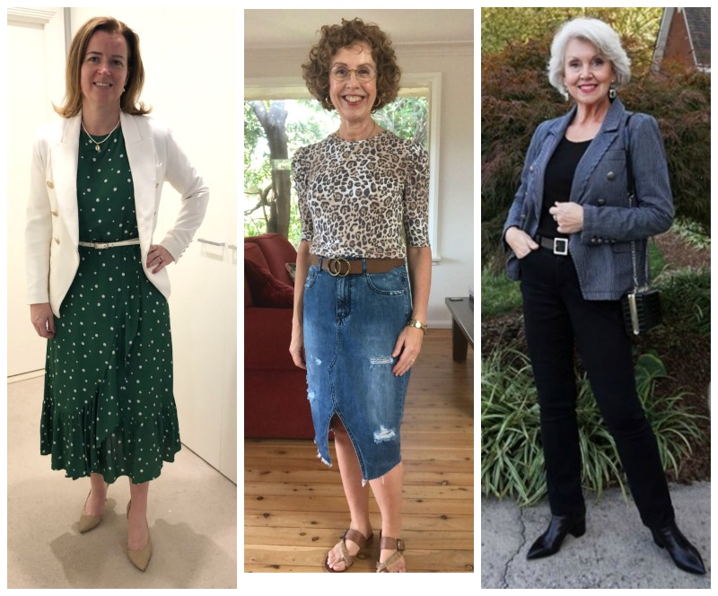 how to wear a belt over 40