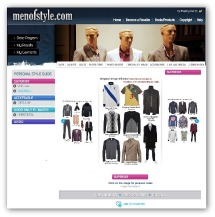 mens style line and design
