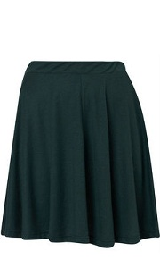 subtle aline skirt for apple body shape