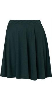 subtle aline skirt for apple body shape