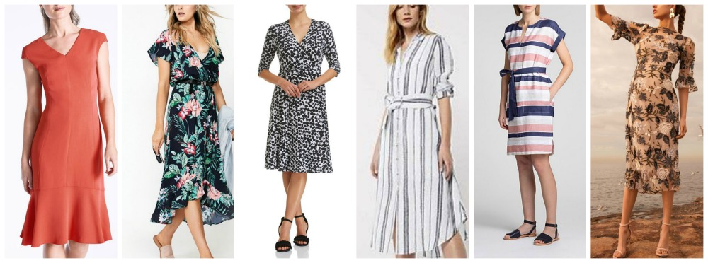 spring summer fashion trends 2018-19 Australia & NZ dresses