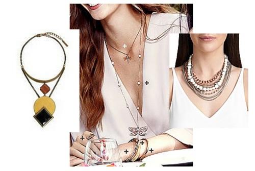 spring summer fashion necklaces australia 2015/16
