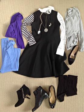 so many ways to style a sleeveless dress