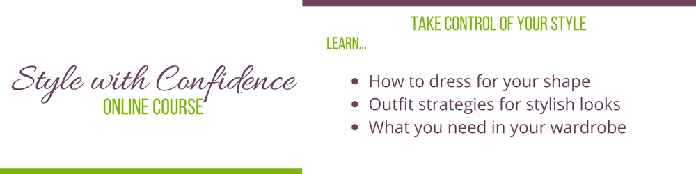 style with confidence online course