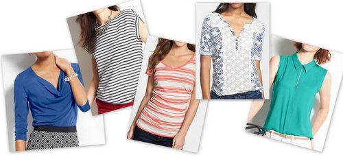 stylish summer pear tops