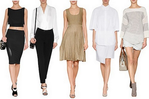 spring summer fashion trend 2014 minimal