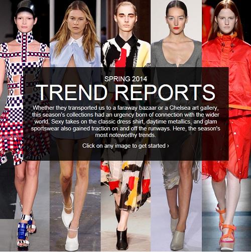 spring summer fashion trends 2014