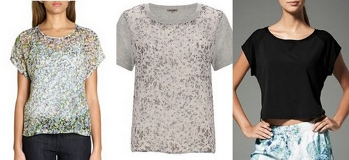 spring summer fashion trend 2014 boxy tops