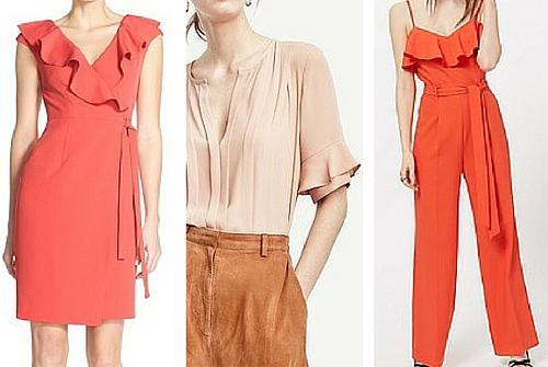 spring summer fashion trends 2016 ruffles