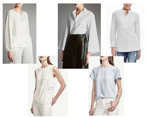 spring summer fashion trends 2016 white shirts