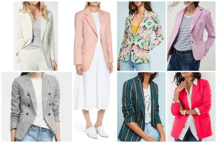spring summer fashion trends 2018 blazers