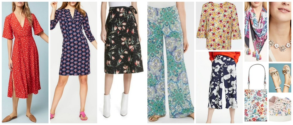 spring summer fashion trends 2018 florals