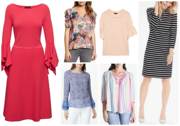 spring summer fashion trends 2018 sleeves