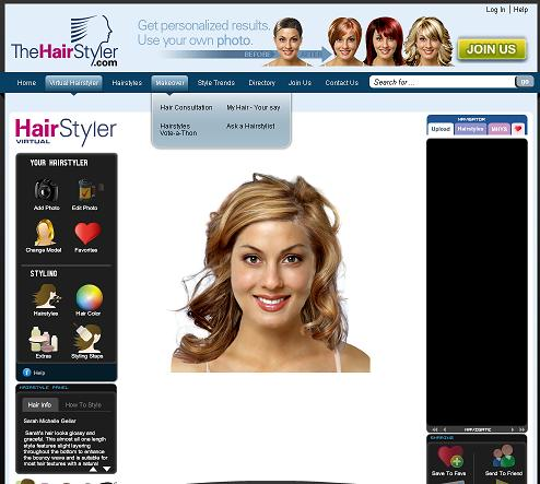 Review Summary: TheHairstyler is my favorite virtual hair styler program to