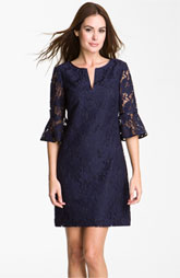 what to wear to evening wedding - lace dress