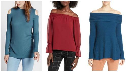 off-shoulder fall winter fashion trend 2016