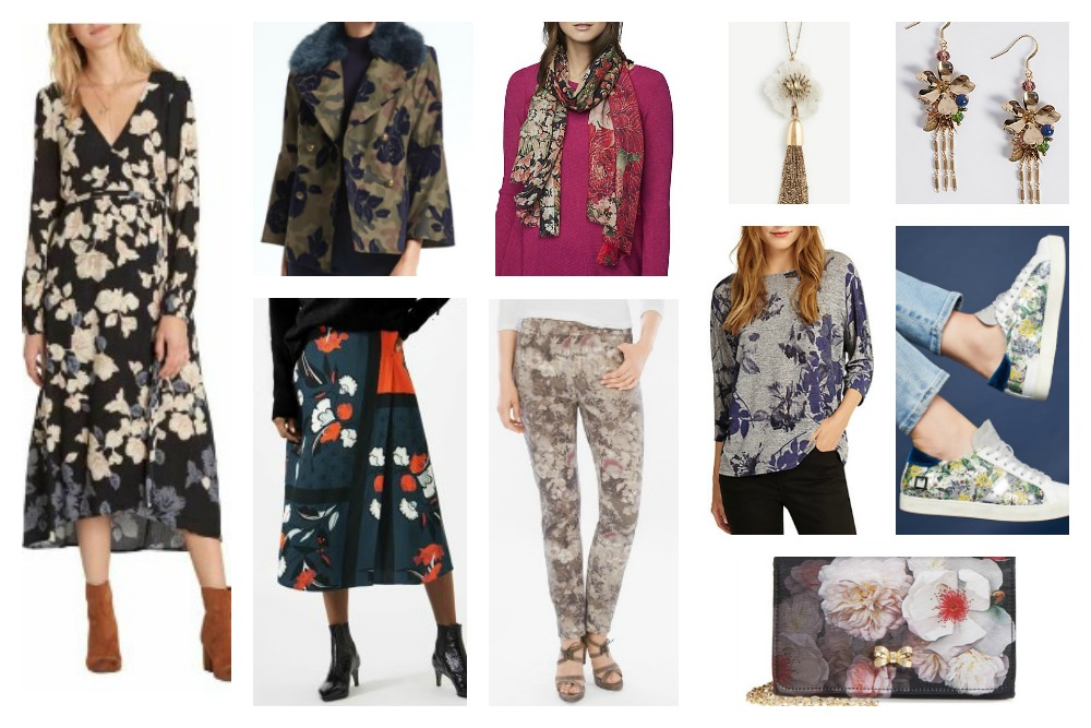 fall & winter fashion trends 2017-18 florals