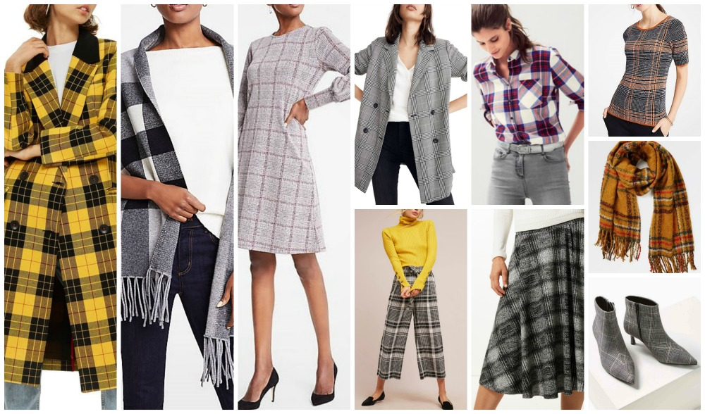 fall winter fashion trends 2018-19 checks
