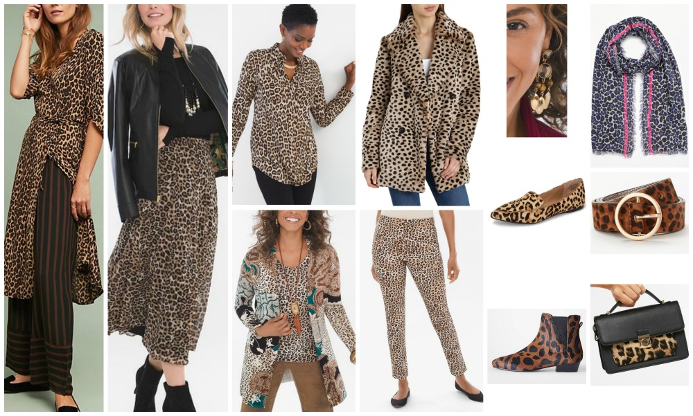 fall winter fashion trends 2018-19 leopard print