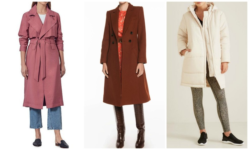 autumn winter fashion trends 2020 Australia & NZ coats