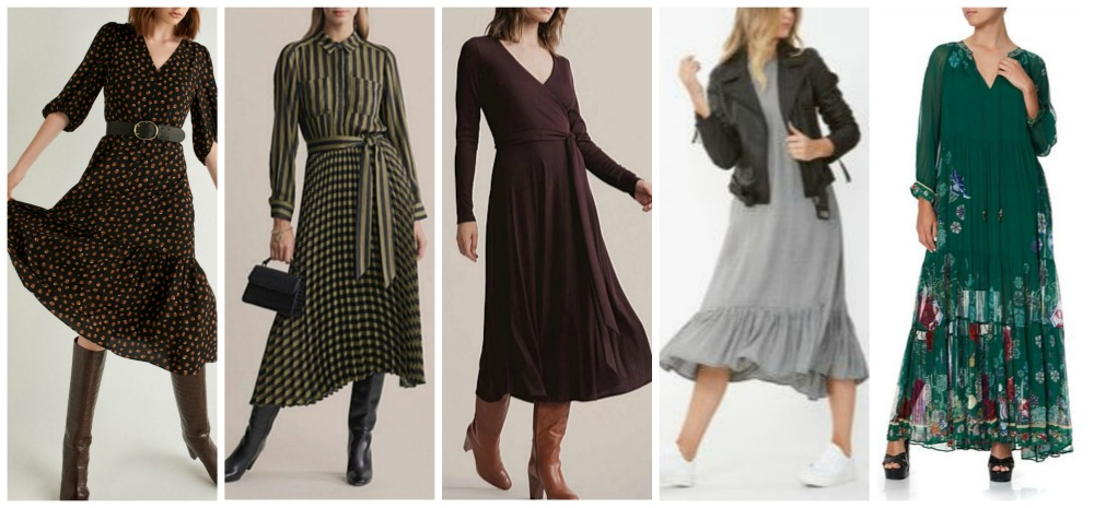 autumn winter fashion trends 2020 Australia & NZ dresses