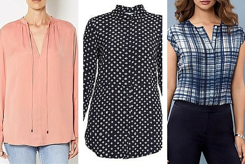 autumn winter fashion trends blouses