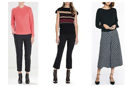 autumn winter fashion trends crop pants