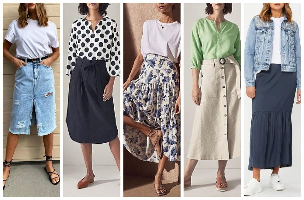 2020 spring summer fashion trends Australia skirts