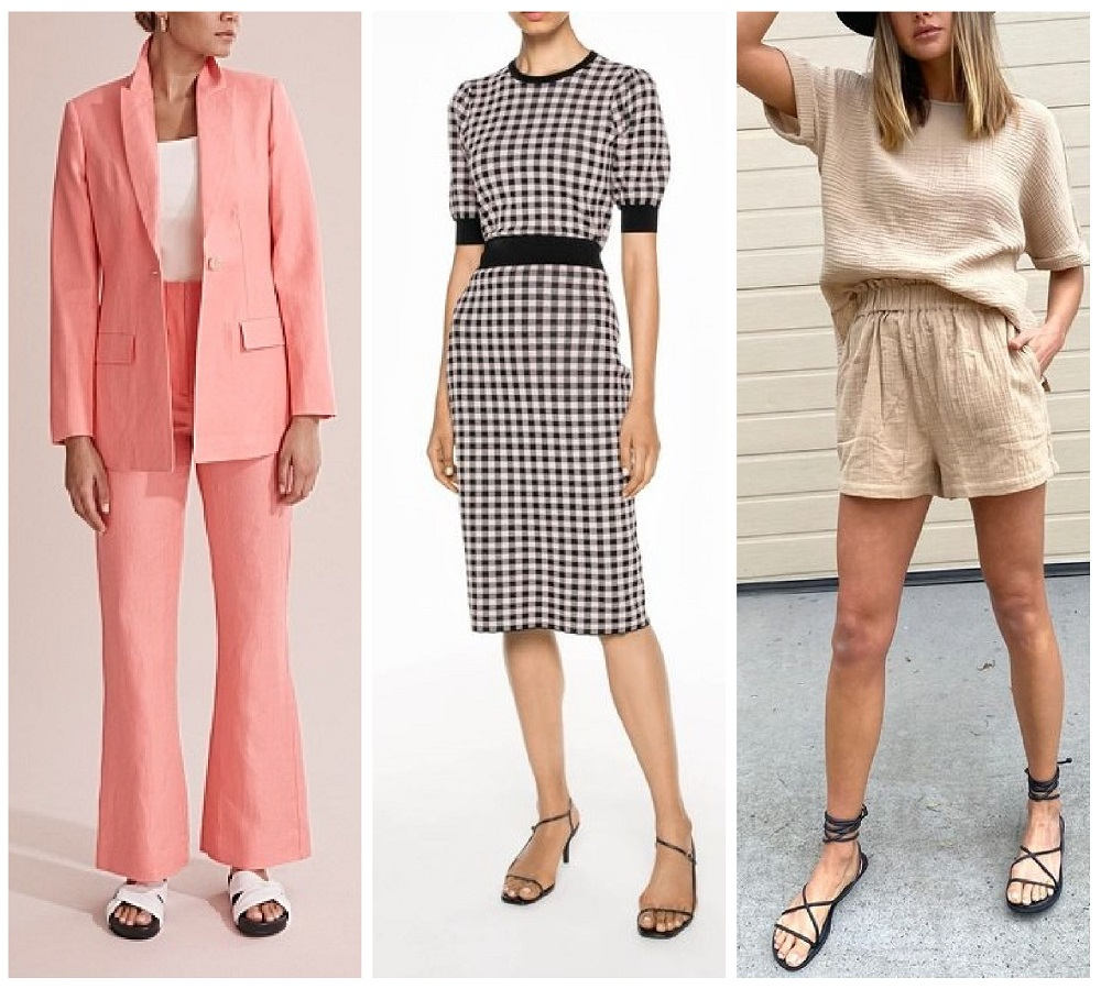 2020 spring summer fashion trends Australia matching sets