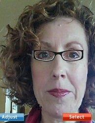 choosing eyeglasses -- wrong color