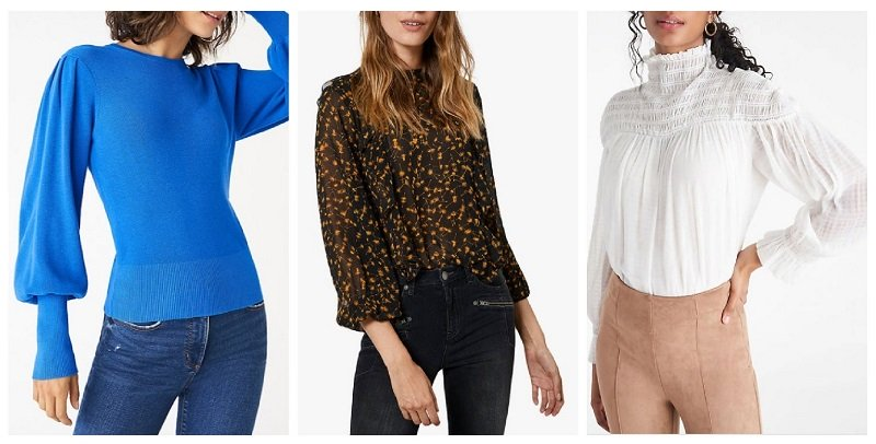 fall winter 2020 fashion trends sleeves