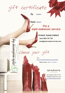 style makeover gift certificate