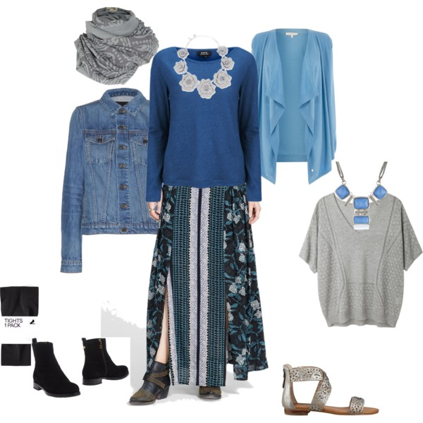 long skirt styling if overweight and short