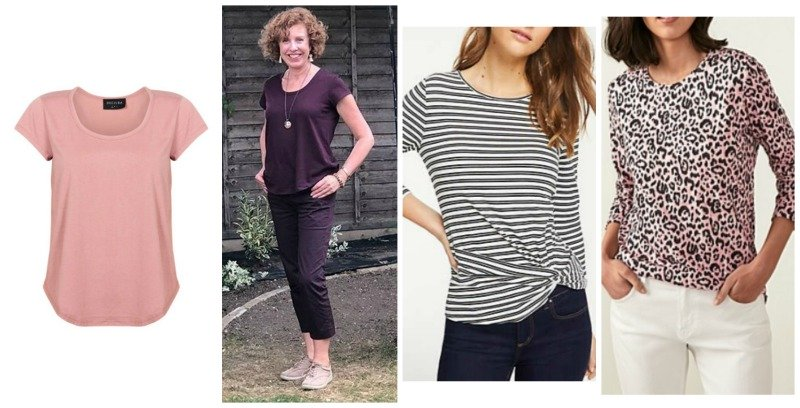natural fibres and tops examples of t-shirts