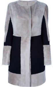 boxy coat for apply body shape