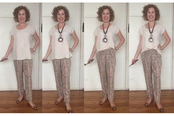 the partial tuck 2 ways