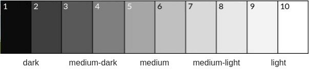 color values