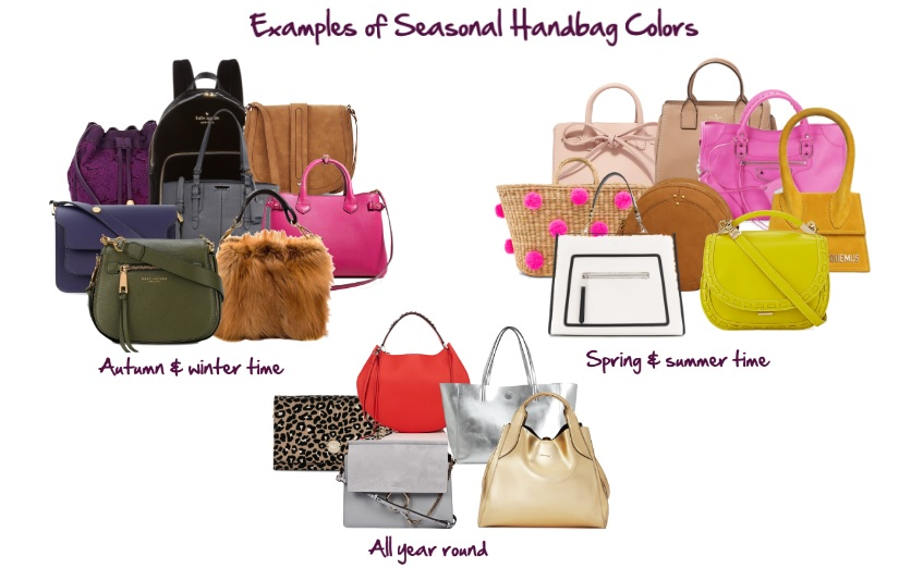 handbag colors by season