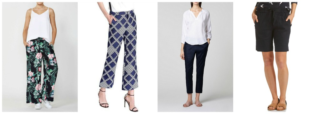 spring summer fashion trends 2018-19 Australia & NZ pants