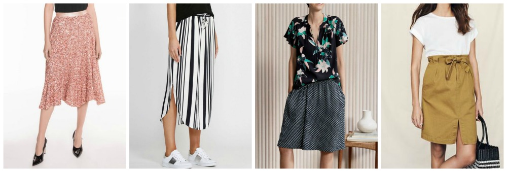 spring summer fashion trends 2018-19 Australia & NZ skirts