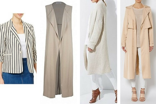 spring summer fashion outer layers australia 2015/16