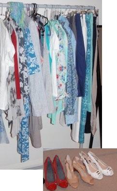 spring summer wardrobe shopping